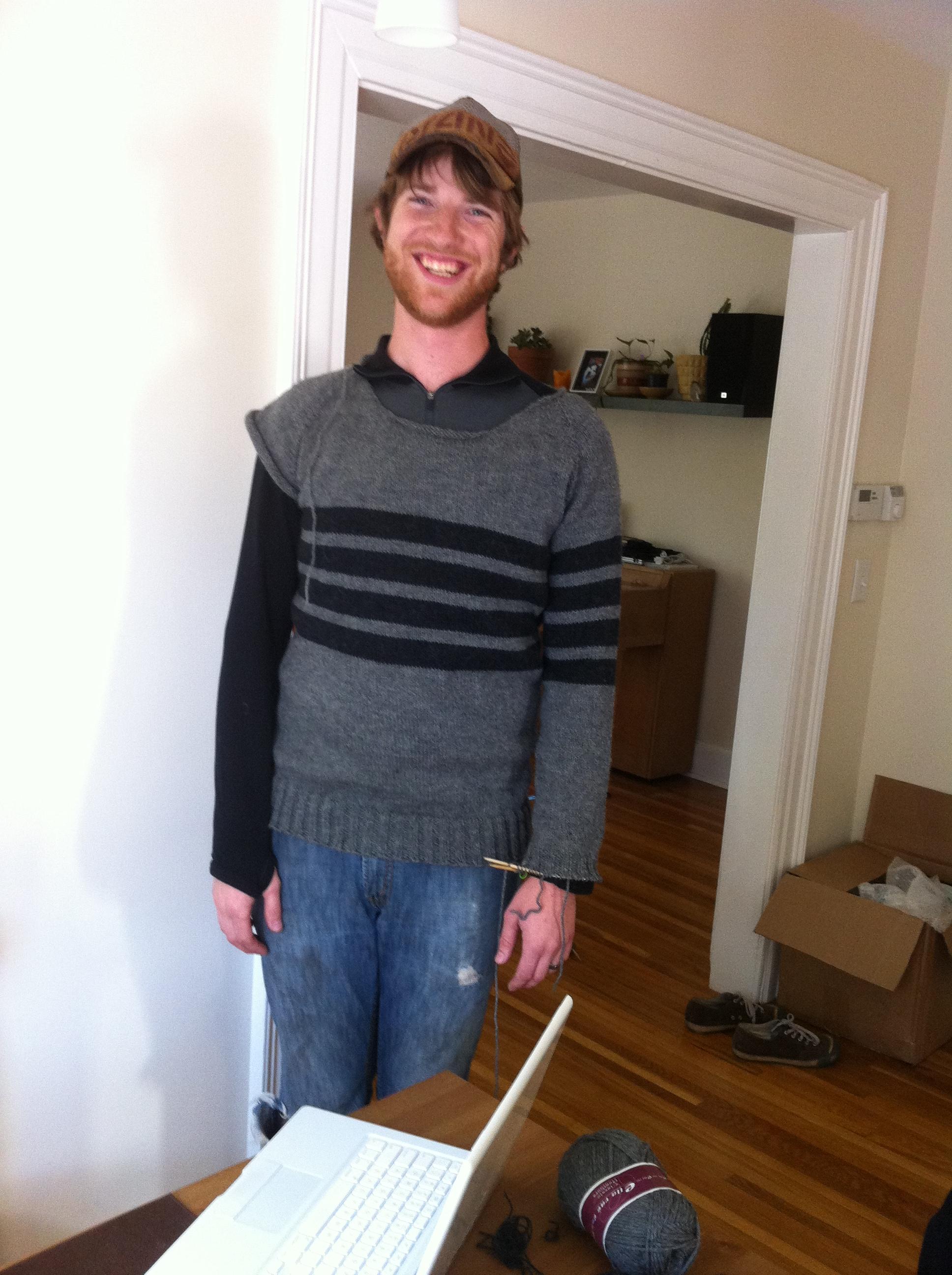 Fall inspires knitting: sweaters, socks, handwarmers, shawls…