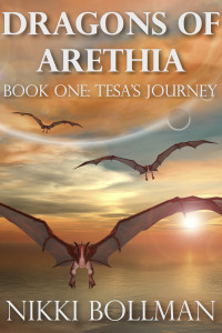 On Sale Now: Dragons of Arethia Book One: Tesa's Journey