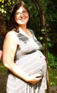 38 weeks belly