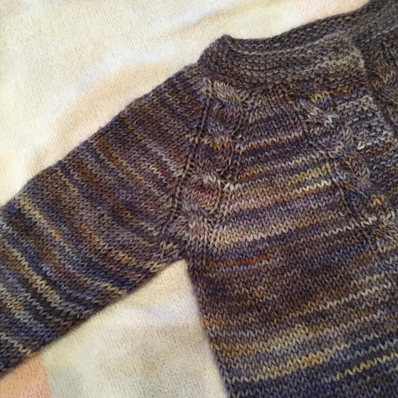 Sunnyside Baby Sweater for Astrid