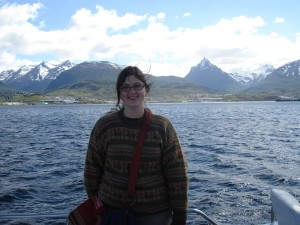 Me on a boat ride in Ushuaia, the southernmost city in Argentina.