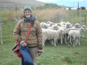 Me-with sheep!