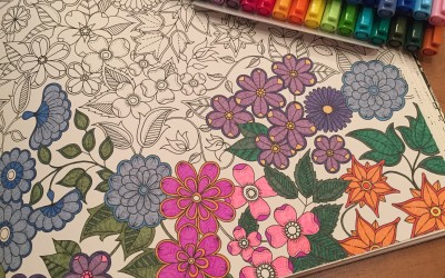 On Creativity and Making: Knitting, Adult Coloring, Embroidery