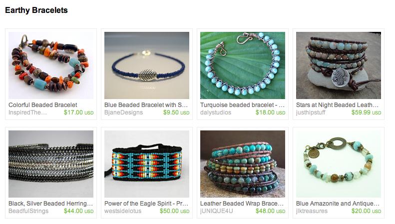 Treasury on Etsy: Earthy Bracelets