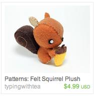 Treasury Tuesday: Squirrels!