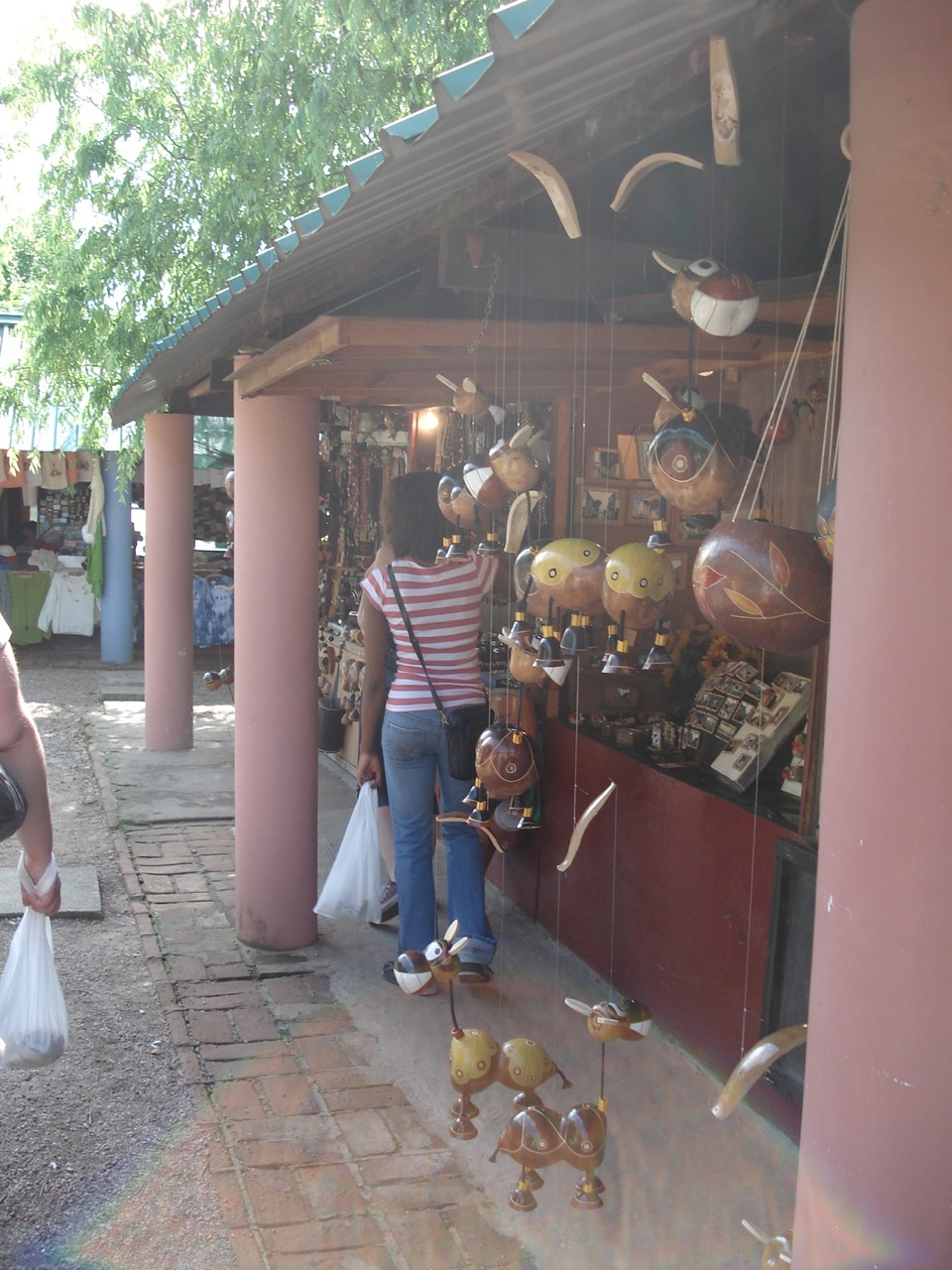 Artisan fairs and handmade treasures while traveling abroad.